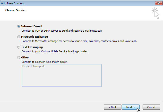 Hosted Email:Outlook 2010 - XMission Wiki