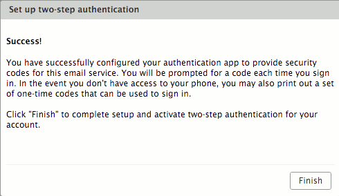 Zimbra Two-Factor Authentication - XMission Wiki